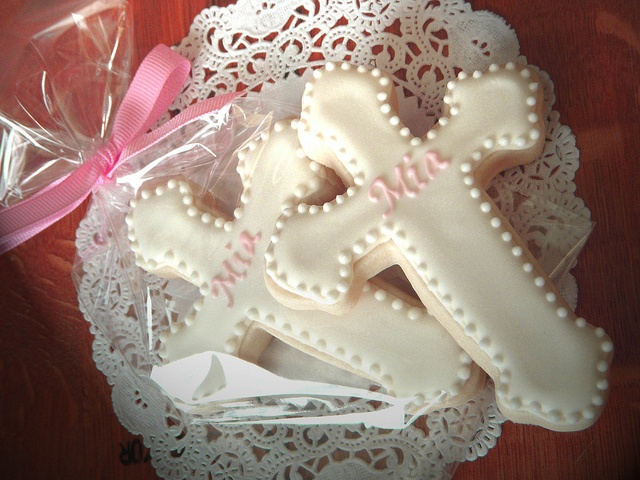 Baptism Cookies by BeeSweetConfections, via Flickr