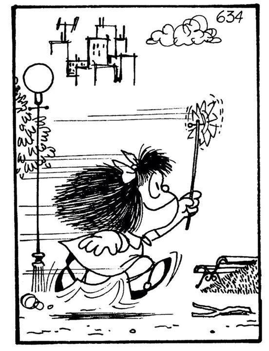 Feliz cumple, Mafalda! Los primeros 50 años. =)