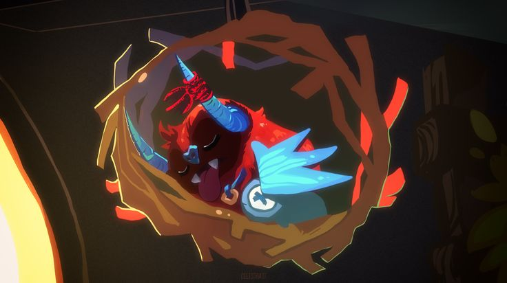 Pyre game, Sleeping Ti'zo http://steamcommunity.com/sharedfiles/filedetails/?id=1098123579