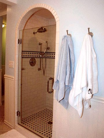 Classic Cottage Style, Shower