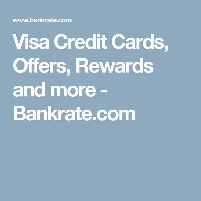 Visa Credit Cards, Offers, Rewards and more - Bankrate.com