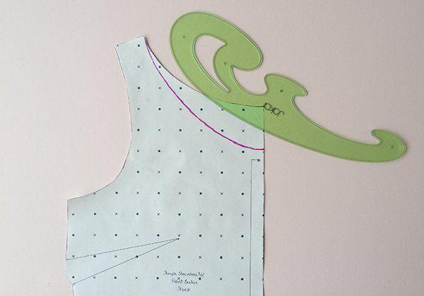 Simple Sleeveless Top Blog Series - Adjusting The Neckline | Guthrie & Ghani