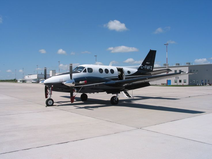The King Air C-90B is flown by students training to become multi-engine aircraft pilots. PHOTO: DND