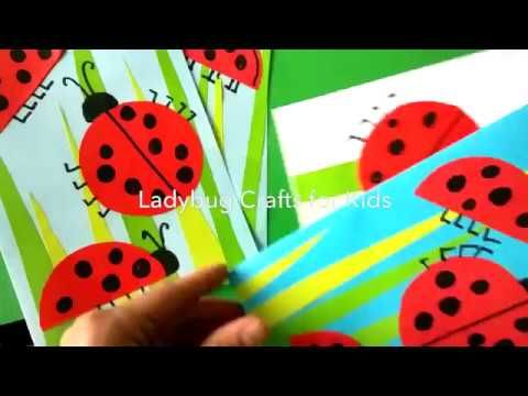Ladybug Crafts for Kids - YouTube