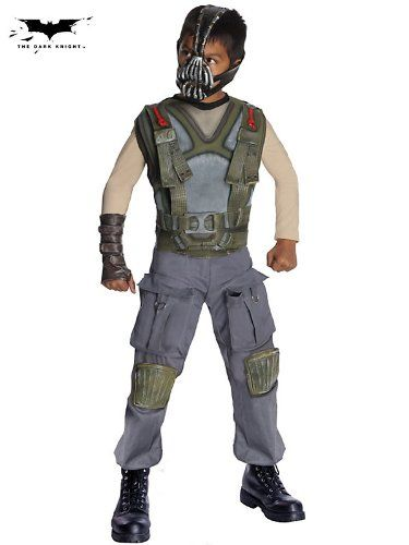 Batman Dark Knight Rises Childs Deluxe Bane Costume and Mask @ niftywarehouse.com