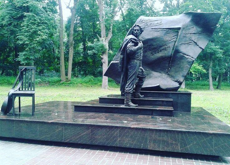 В Тульской области появился памятник Игорю Талькову