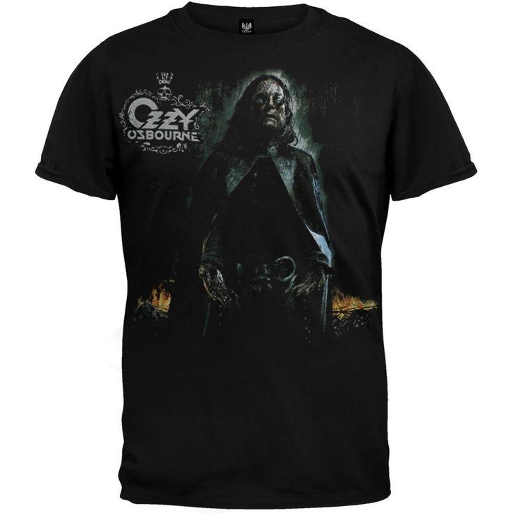 Ozzy Osbourne - Standing In Black Rain T-Shirt