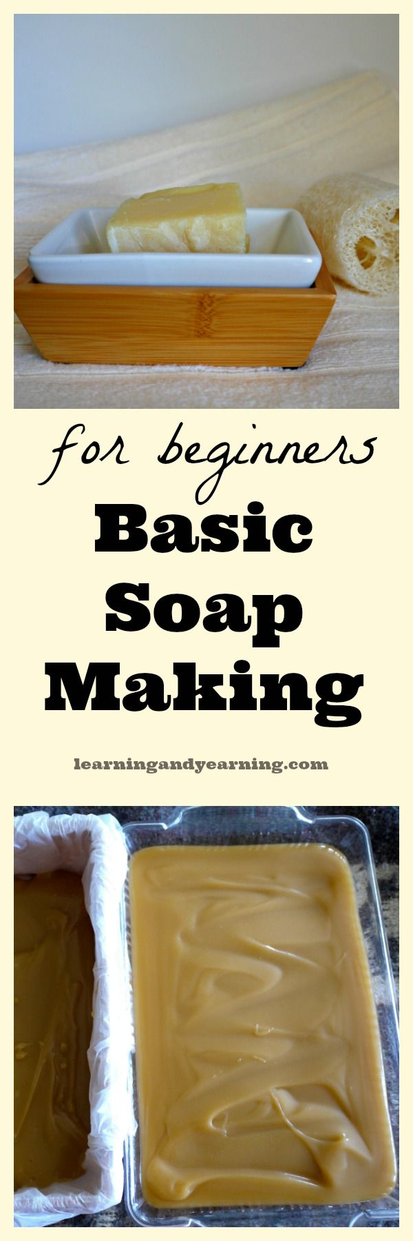 Soap making requires care, but is a simple and straight-forward process. This post on basic soap making is a simple primer to get you started.