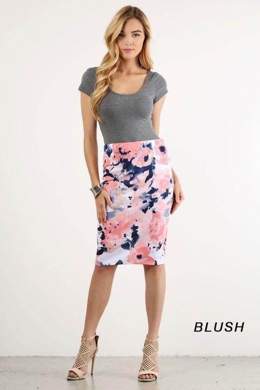 17 Best ideas about Floral Pencil Skirt on Pinterest | Floral ...
