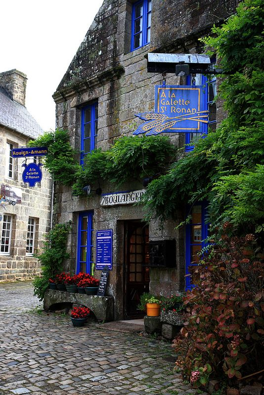 Locronan, Finistère (France) – Crédit Photo : Flavio Beltrami (Red Lyon) via Flickr
