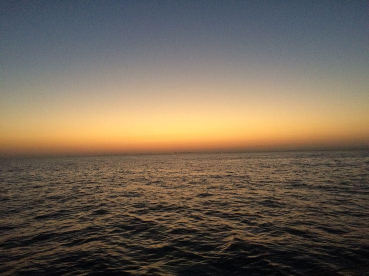 open sea between Greece to Isreal