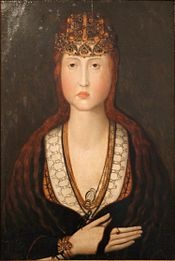 Joan of Portugal (1452 - 1490). Daughter of Afonso V and Isabella of Coimbra.