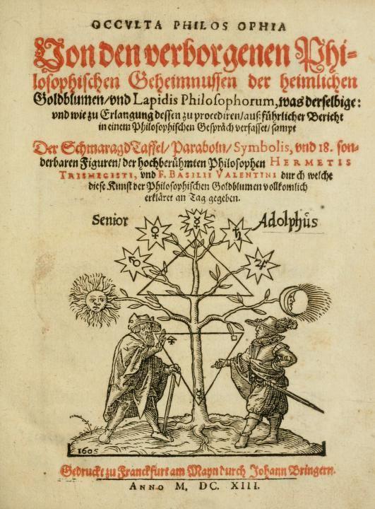 Occvlta philosophia : von den verborgenen philo...