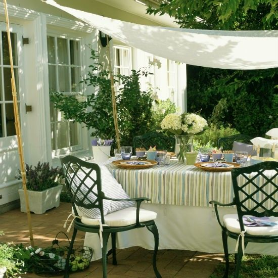 Make your own canopy | Patio | Garden | IDEAS GALLERY | Ideal Home | Housetohome