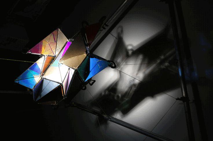 21st Century Light Space Modulator by Jason Bruges Studio