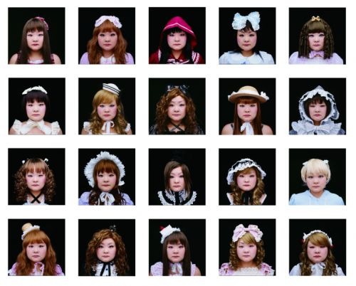 Headshots from Decoration by Tomoko Sawada