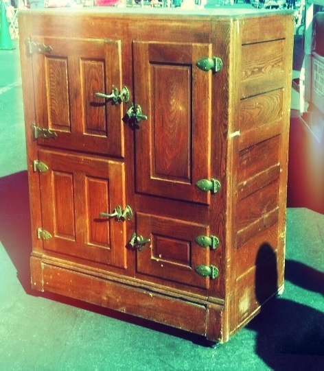 Vintage (90 year old) Ice Box found at Deniou0027s & 72 best Antique Ice Boxes images on Pinterest | Antique furniture ... Aboutintivar.Com