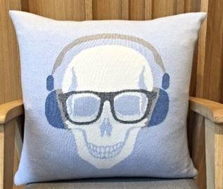 Skull Headphones Pillow - Rani Arabella