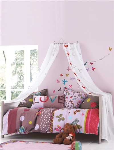 'Butterflies' bed linen (other items from this theme are also available)
