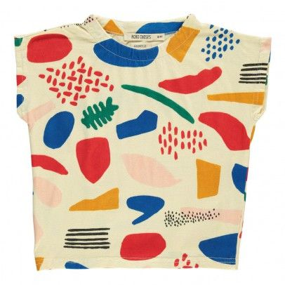 Matisse T-Shirt Ecru  Bobo Choses