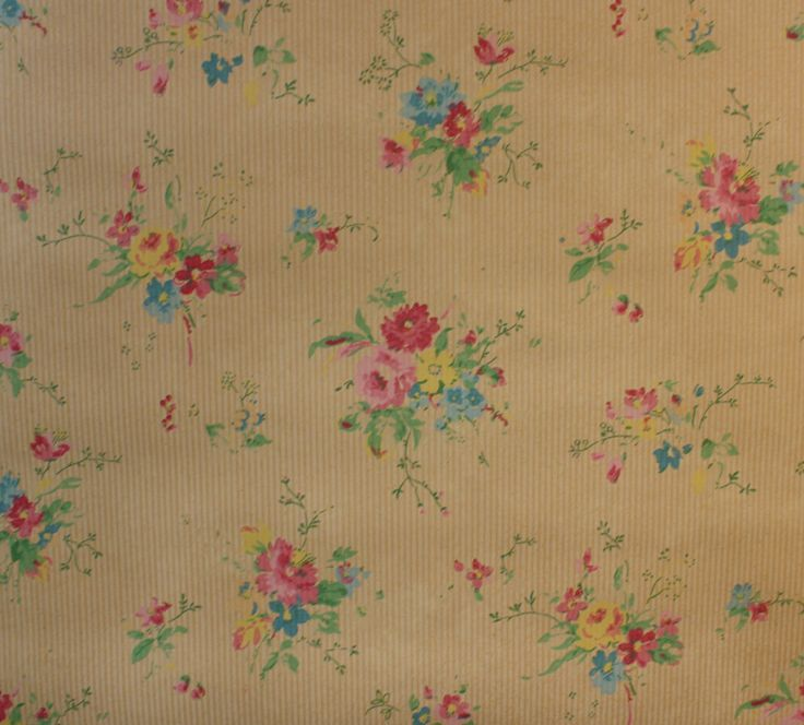 1930s Vintage Wallpaper by the Yard Farm Animals Scenic