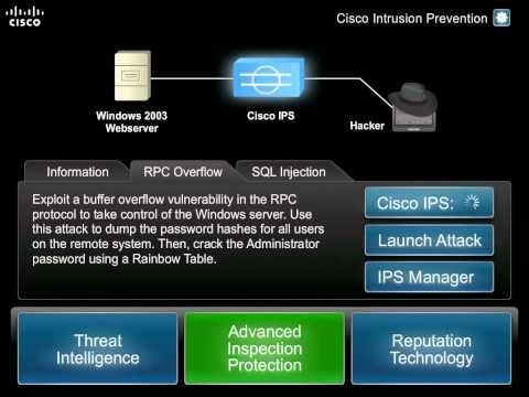Cisco Intrusion Prevention System http://www.youtube.com/watch?v=zk67yywQHns http://www.youtube.com/watch?v=O2Gz-v8WswQ https://www.facebook.com/EarthFirstConsulting
