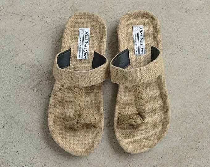b43c4d855d6ce Linen shoes hemp hemp straw sandals Cane straw sandals Light ...