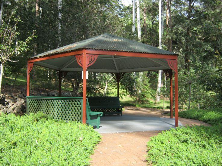 Botanic Gardens gazibo, Tamboine Mt