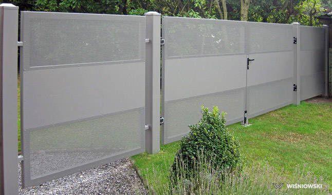 WIŚNIOWSKI: Kolekcja ogrodzeń MODERN - AW.10.112