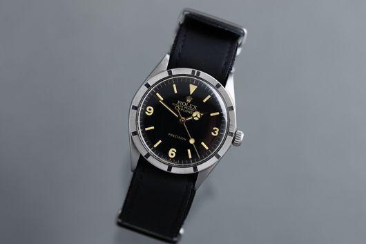 1969年 ロレックス オイスターパーペチュアル エクスプローラー Ref.1007 ギルトダイヤル …