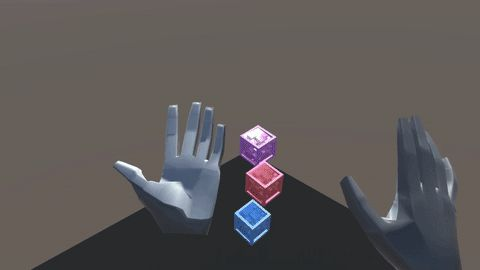 Leap Motion Interaction Engine now features interface designer graphic renderer and support for PC handheld controllers!