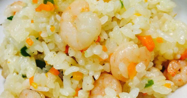 超簡単♫フライパンde海老ピラフ♡ by ♡トマト♡ [クックパッド] 簡単おいしいみんなのレシピが250万品