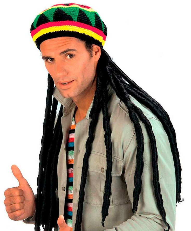 Шапка растамана с дредами, созданная по мотивам Боба Марли, экспонирует яркие образы Ямайки. Купить шапку растамана в интернет-магазине — http://fas.st/GxICKu