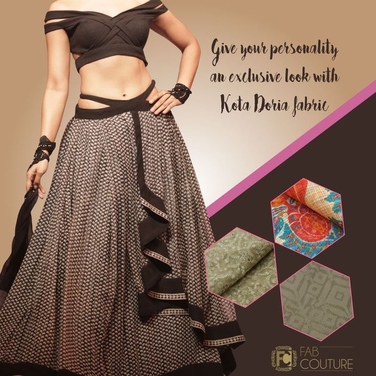 Give your personality an exclusive look with Kota Doria fabric only  with  Fab Couture.   Grab your fabric at  https://fabcouture.in  #FabCouture! #DesignerFabric at #AffordablePrices #DesignerDresses #Fabric #Fashion #DesignerWear #ModernWomen #DesiLook #Embroidered #WeddingFashion #EthnicAttire #WesternLook #affordablefashion #GreatDesignsStartwithGreatFabrics #LightnBrightColors #StandApartfromtheCrowd #EmbroideredFabrics