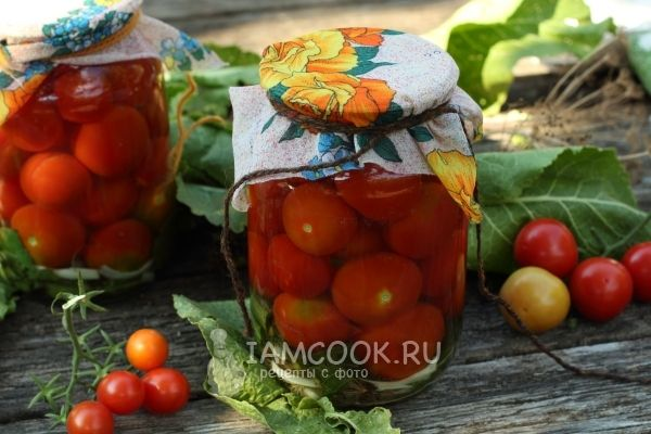 Фото консервированных помидоров с хреном