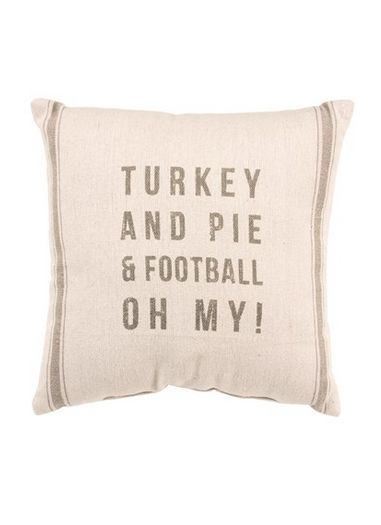 Turkey and pie & football, OH MY!