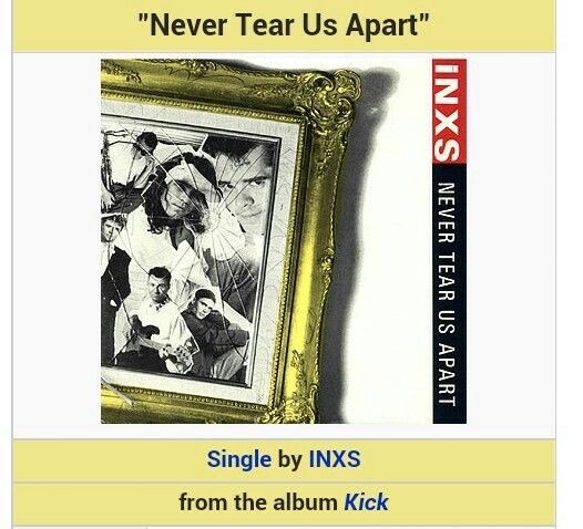 Inxs Never Tear Us Apart: 46 Best Images About Cover On Pinterest