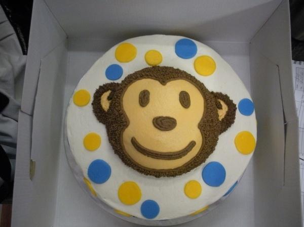 Simple MONKEY Smash Cake Ideas Pinterest