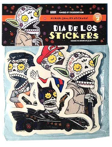 Dia de los stickers decorative adhesives sticker pack