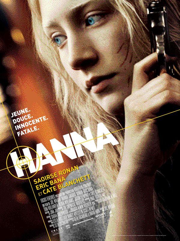 Hanna est un film de Joe Wright avec Saoirse Ronan, Eric Bana. Synopsis : Hanna, 16 ans, n'est pas une adolescente comme les autres. Élevée loin de tout par son père, Erik, ex-agent de la CIA, elle n'ignore aucune des techni