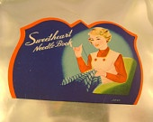 Antique Sweetheart Rust Proof Needle Book Made in Japan, Complete Set of 19 Needles and Threader