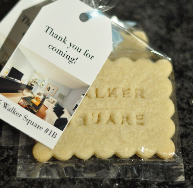 thank you cookies for an open house http://www.usawaterviews.com