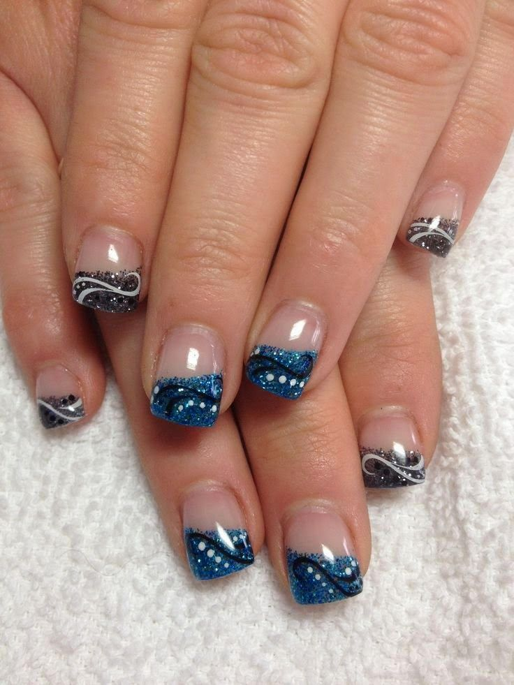 New Nails Coffin Shape: Best 25+ Gel Nails French Ideas On Pinterest
