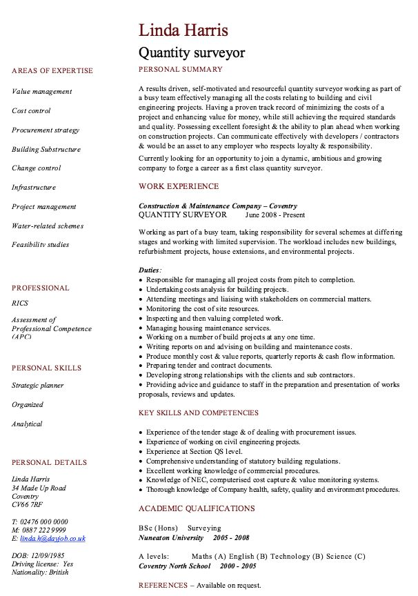 Example Of Management Consultant Resume - http\/\/resumesdesign - truck driver resume