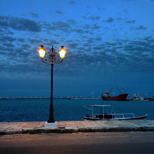 Beautiful scenery! Port of #Zakyntos #Zante Photo credits: @couvanos