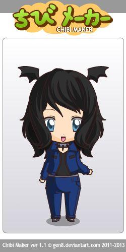 Chibi girl [gothic]