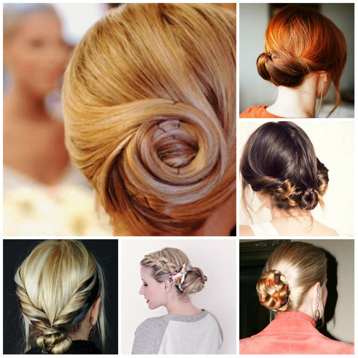 Bun Hairstyles | Hairstyles 2016 New Haircuts and Hair Colors from special-hairstyles.com
