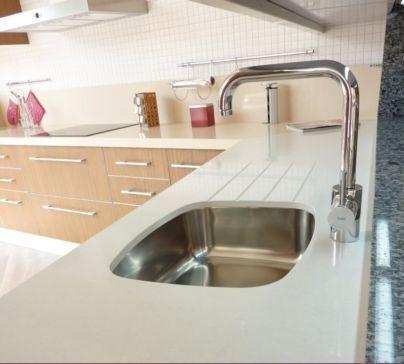 Cocinas encastre con ranuras para fregadero ayuda a eliminar el agua fregaderos para la - Fregaderos para cocinas ...