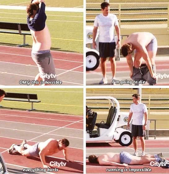 This is also how I feel about running. (Parks and Recreation)