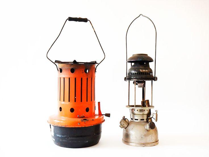 Lámparas de Oleo y de gas Antiguas